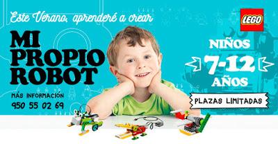 Curso de Robótica infantil en Aguadulce, Almería.