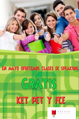Clases de Speaking Gratis en Mayo.