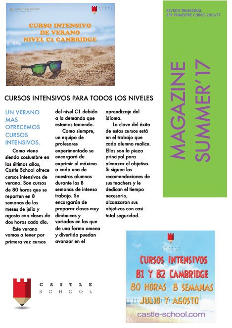 Nuestra Revista Trimestral de Junio'17